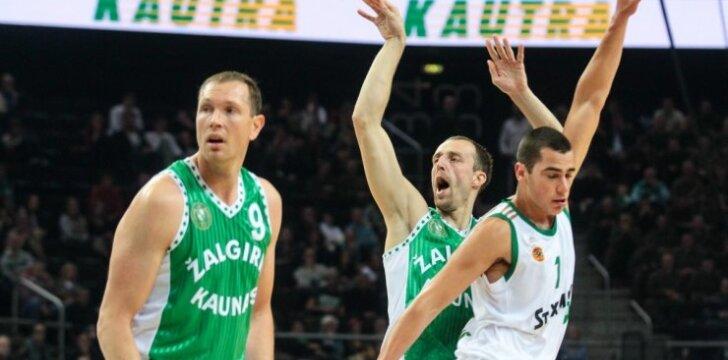 """Jubiliejų švenčiantis """"Žalgiris"""" nepaliko vilčių Graikijos čempionams"""