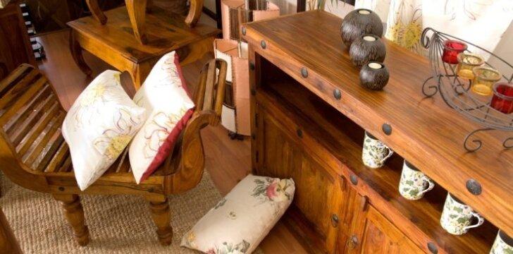 Esminiai patarimai, kaip tausoti medinius baldus