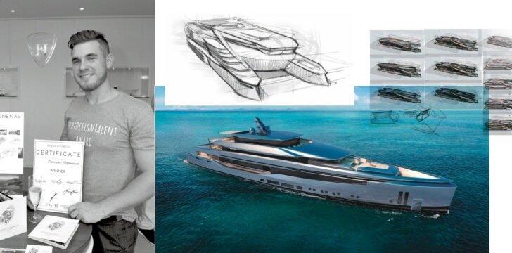 """Superlaivų dizaineris Dastinas Steponėnas: """"Didžiausias įspūdis patiriamas išvydus galutinį produktą"""""""