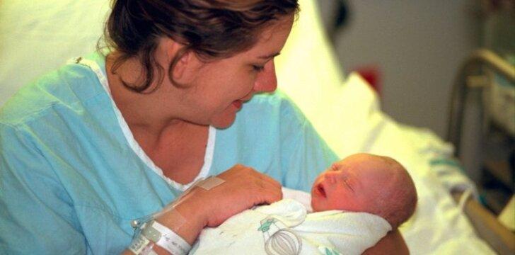 Sunkus Viktorijos nėštumas ir lengvas gimdymas