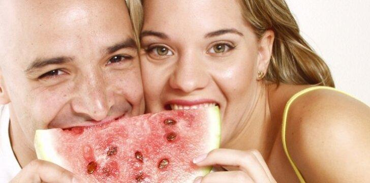 Arbūzas naudingas ne tik moters, bet ir vyro seksualinei sveikatai.