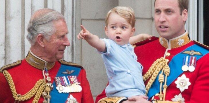 """Mažasis princas karalienės iškilmėse ir juokino, ir stebino <sup style=""""color: #ff0000;"""">(FOTO)</sup>"""