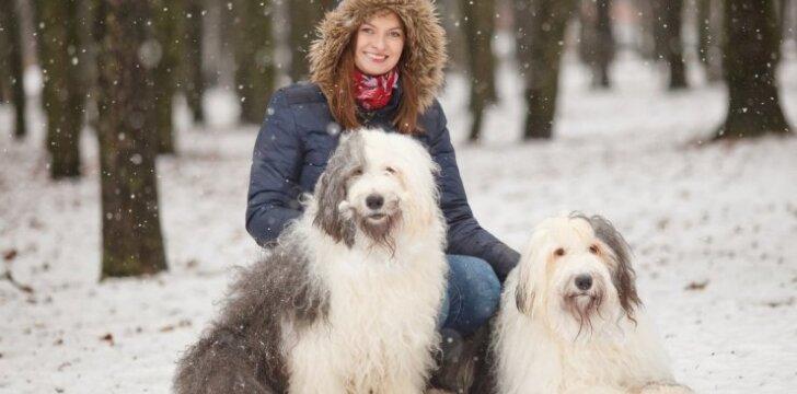 Bobteilai – šunys, kurie padeda sergantiems vaikams