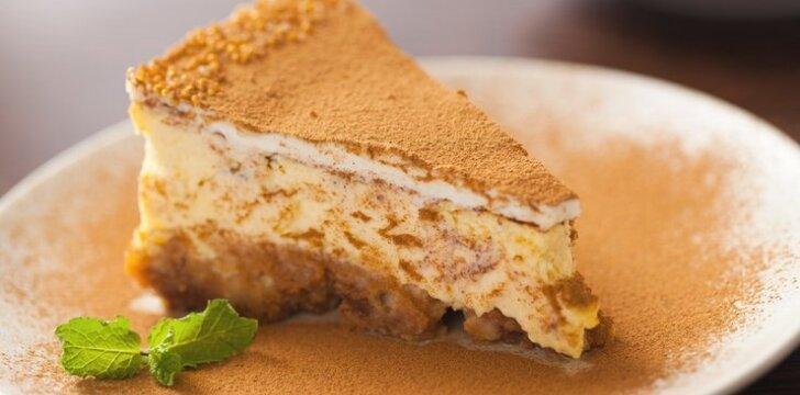 Pyragas su plikytu kremu