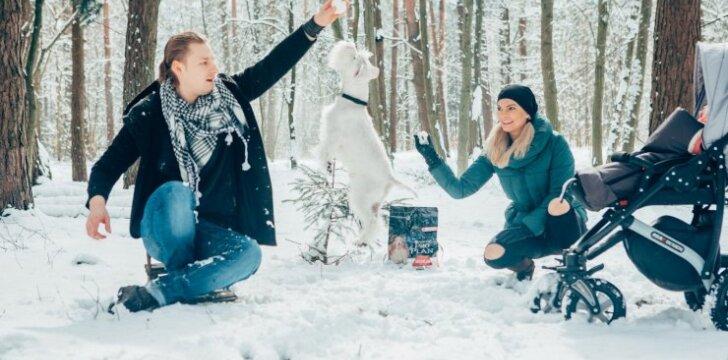 """Justinas Lapatinskas: <span style=""""color: #c00000;"""">pirmas dukros žodis</span> buvo ne """"mama"""", o Aizis - šuns vardas!"""