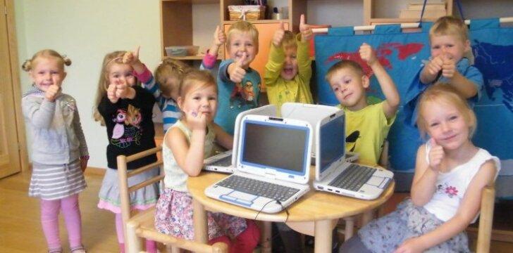 Vaikų darželis Vilniuje griauna stereotipus apie vaikus ir išmaniąsias technologijas