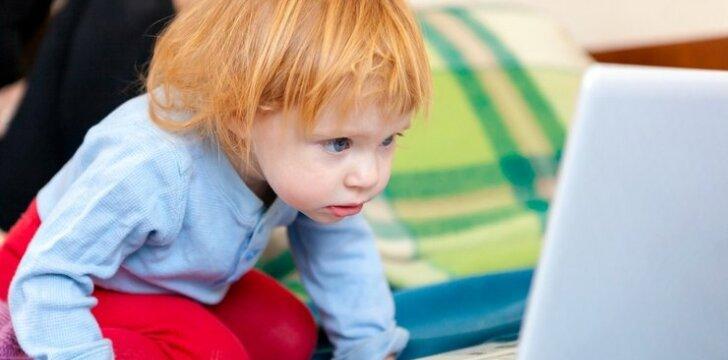 Ką daryti, jei vaikas nuo ryto iki vakaro įnikęs į kompiuterį