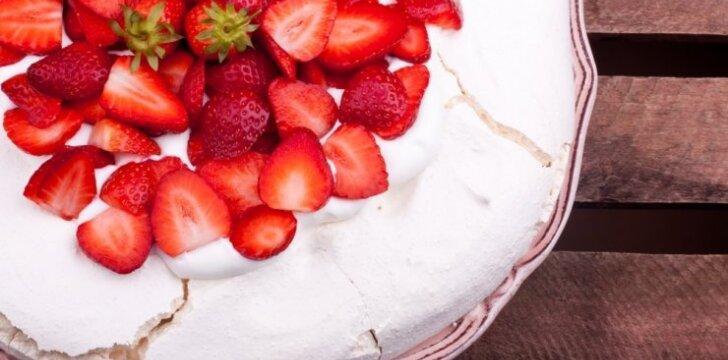 Australiškas morenginis tortas