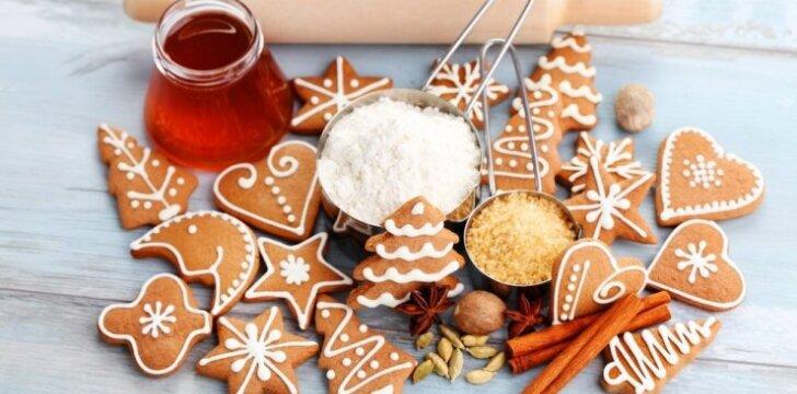 Kalėdų belaukiant: 3 gardūs meduolių receptai
