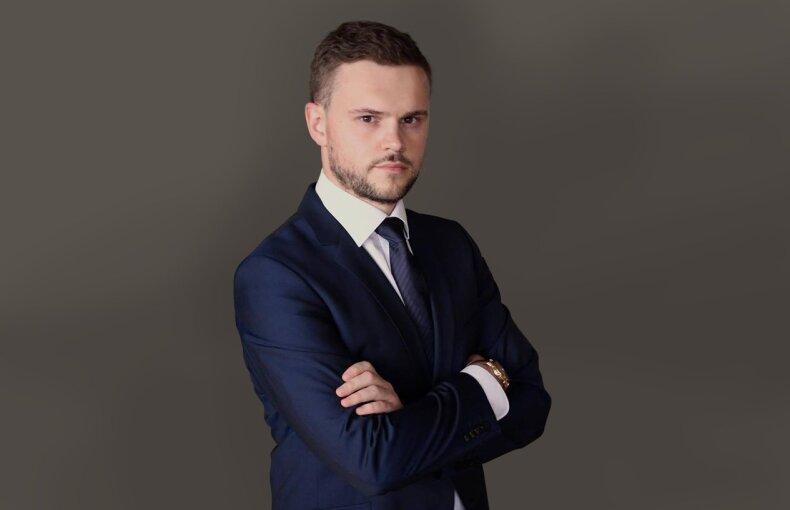 """""""Omniva LT"""" pardavimo ir verslo vystymo vadovas Justinas Pileckas"""