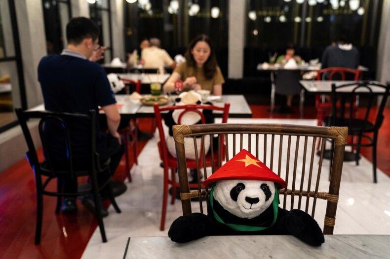 Vietnamiečių restoranas Tailande