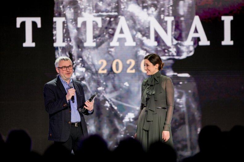 DELFI švenčia 20-ą gimtadienį: įteikti Titanų apdovanojimai