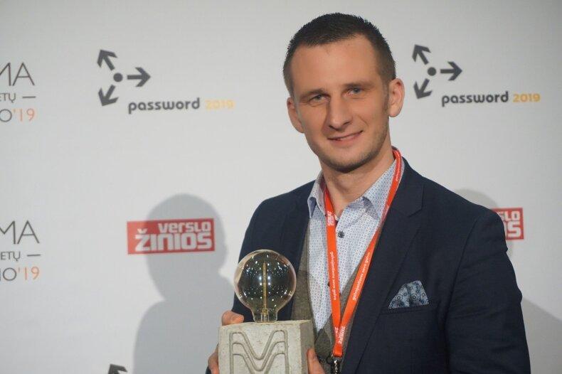 Mantas Matukaitis išrinktas geriausiu 2019 metų marketingo vadovu
