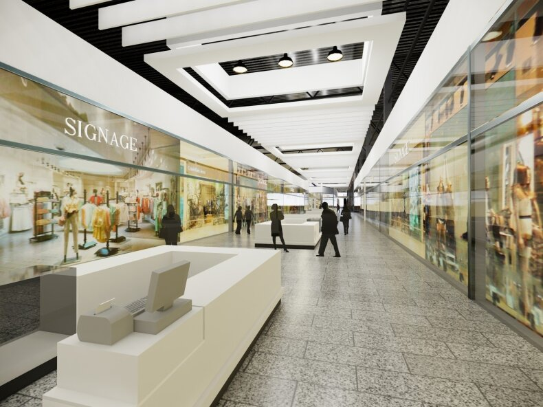 """Prekybos centro """"Akropolis"""" atnaujinimo vizualizacija"""
