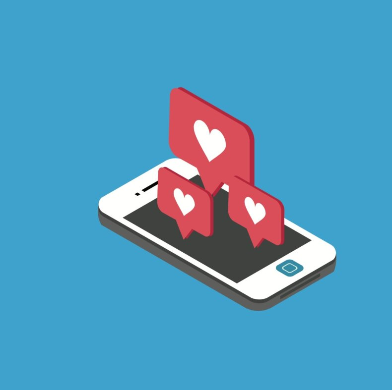 Socialinių tinklų pranešimai