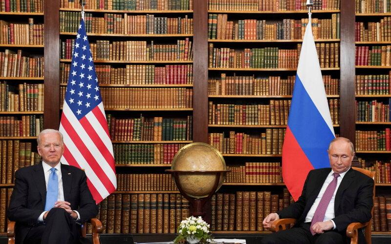 Putino ir Bideno susitikimas