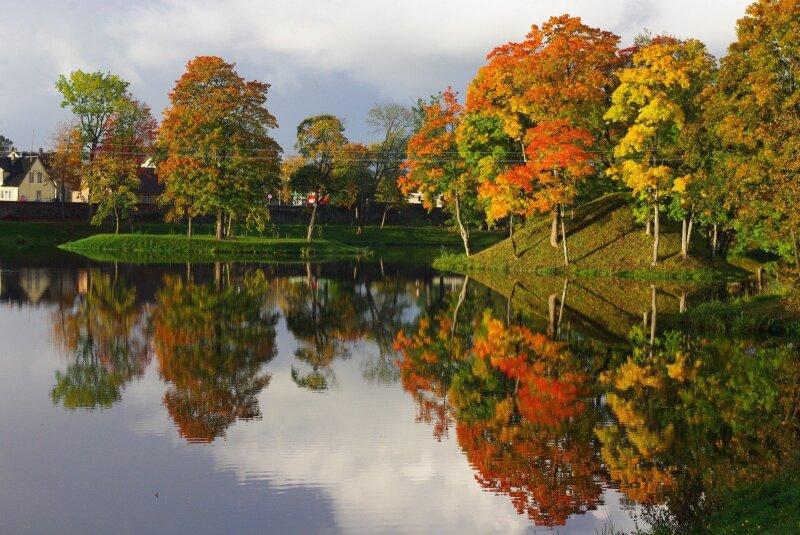 Kryžkelėje įsikūręs Lietuvos miestas stebina parko grožiu