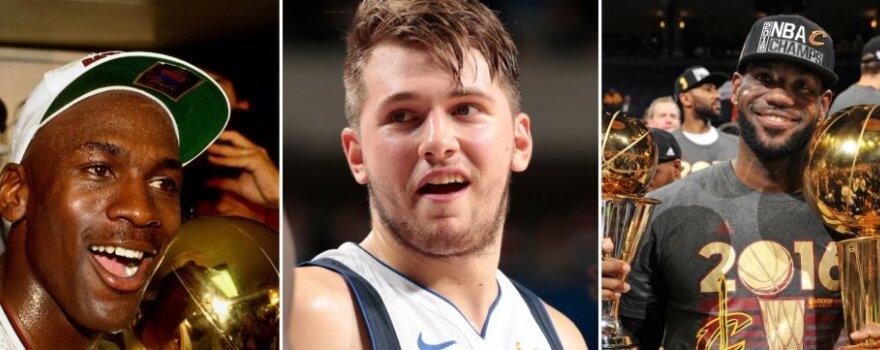#PirmadienįPenktą: Dončičiaus šansai, LeBronas prieš Jordaną ir kiti lietuviams aktualiausi NBA klausimai