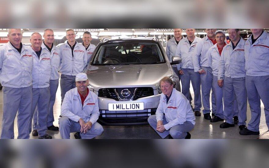 Milijoninis Nissan Qashqai