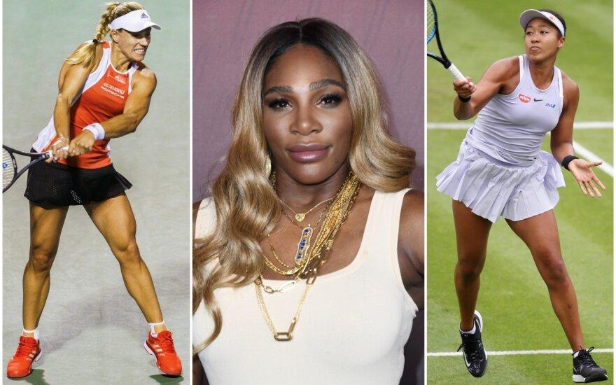 Angelique Kerber, Serena Willliams, Naomi Osaka