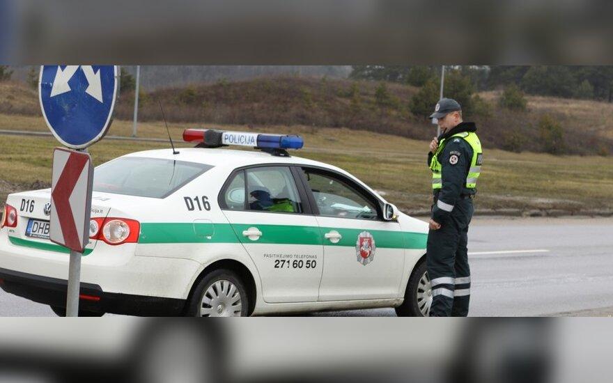 """Lietuviai kelyje """"Via Baltica"""" KET pažeidėjų tykos kartu su latviais"""
