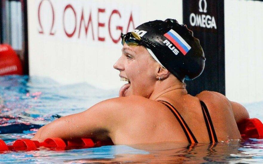 Iš Rusijos – raginimai nesmerkti dopingo vartojimu įtariamos J. Jefimovos