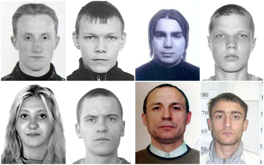 Ilgiausiai ieškomi nusikaltėliai