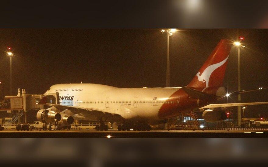 Avialinijų Qantas lėktuvas Boeing 747