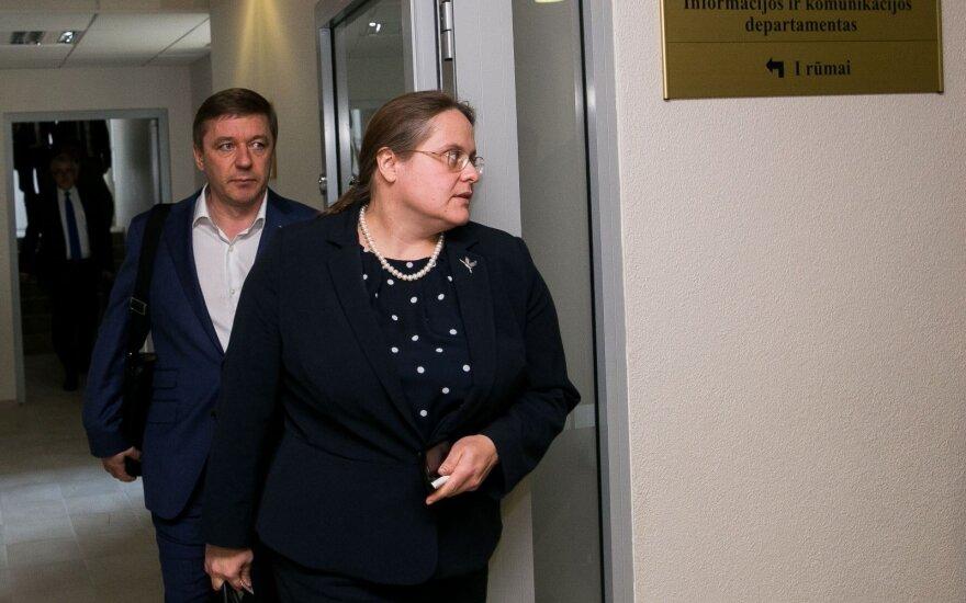 Ramūnas Karbauskis ir Agnė Širinskienė