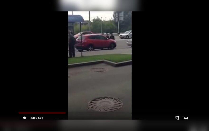 Neklusni vairuotoja Kijeve