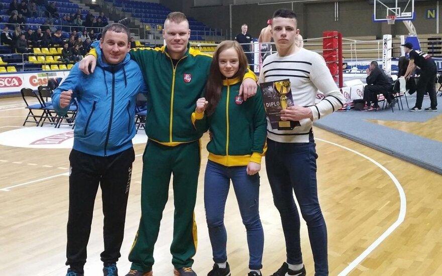 R. Stašauskaitei – Europos muaitai čempionato bronza