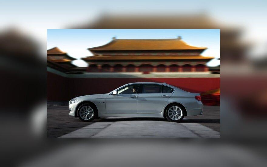 Kinijos rinkai skirtas BMW 5 sedanas