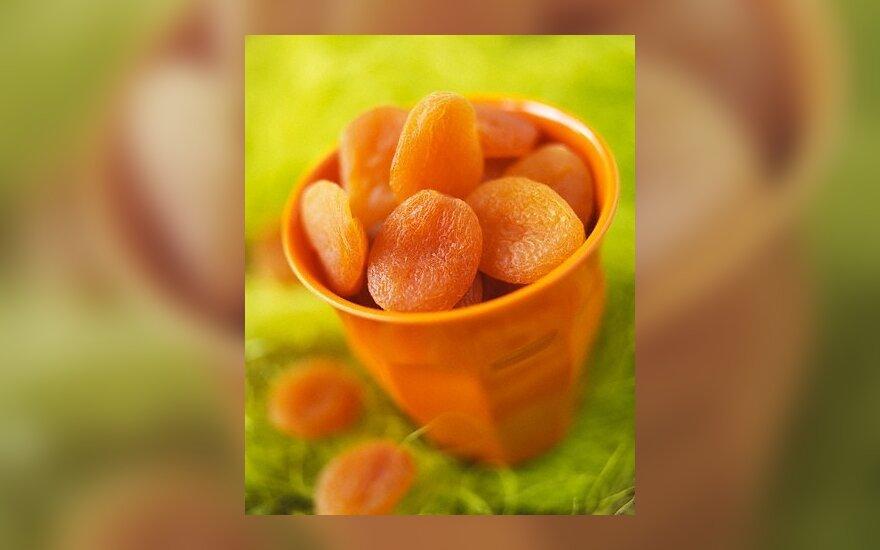 Džiovinti abrikosai
