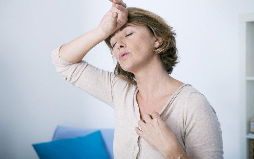 Menopauzės metu patiriamas intymias bėdas galima išspręsti