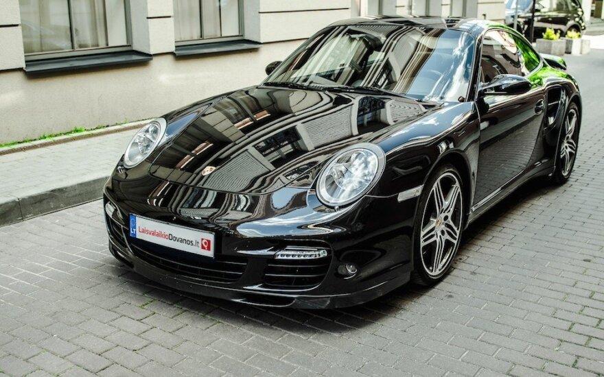 """Siūlys išmėginti """"Porsche 911 Turbo"""""""