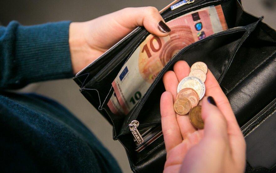 Finansų įstaigos nerimauja dėl rizikų pasaulio rinkose