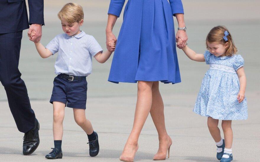 Princui George'ui ir princesei Charlotte – atsakingos pareigos karališkose vestuvėse