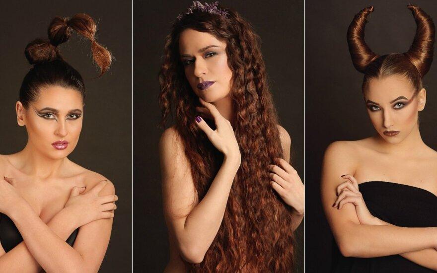 Unikalioje fotosesijoje modeliai atsiskleidė kaip Zodiako ženklai