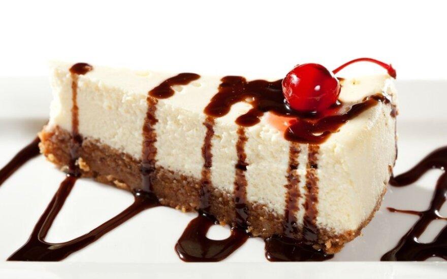Sūrio tortas su šokoladu