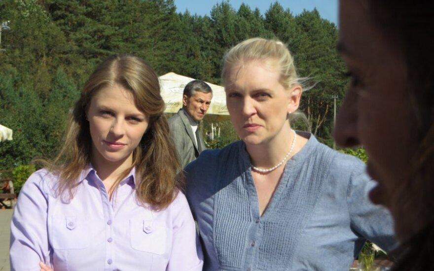 """Rūta Ščiogolevaitė seriale """"Giminės"""" (""""TV Europa"""" nuotr.)"""