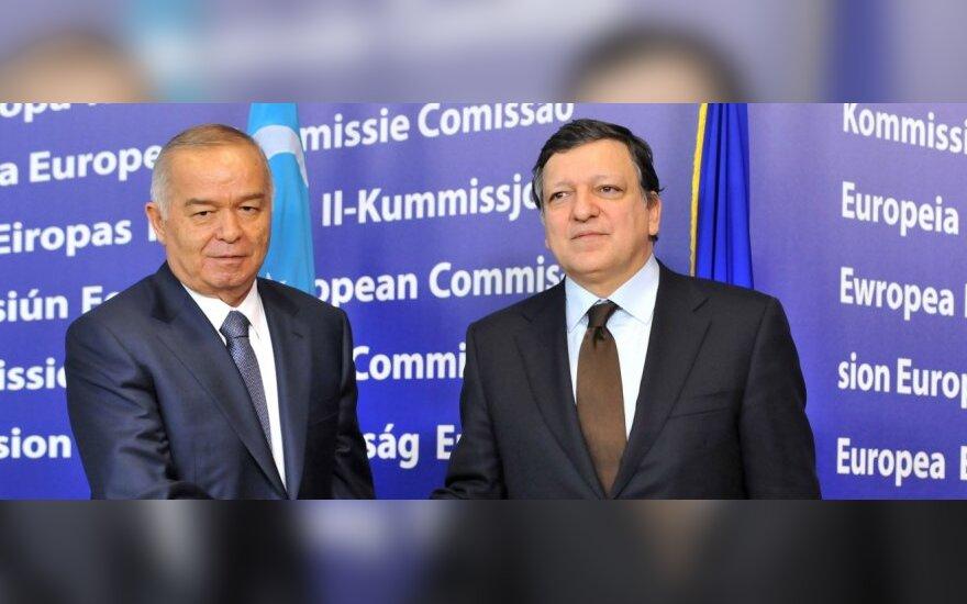 Islamas Karimovas, Jose Manuelis Barroso