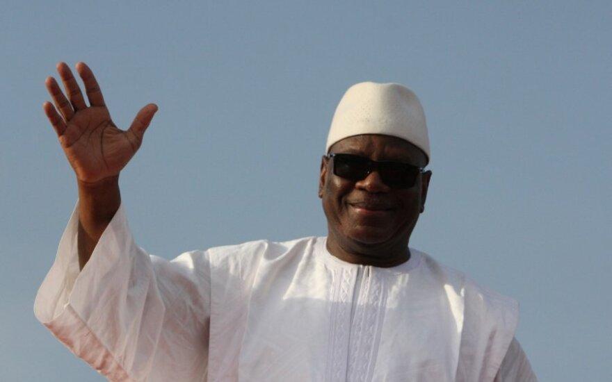 Išrinktas Malio prezidentas Ibrahimas Boubacaras Keita