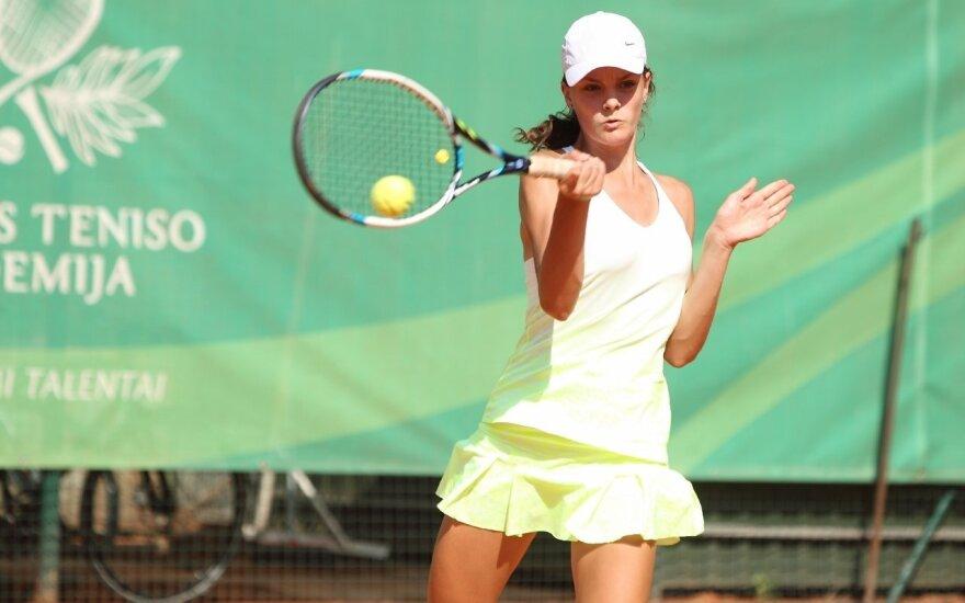 Dėl Vilniaus teniso akademijos taurės kovoja žaidėjai iš trylikos valstybių