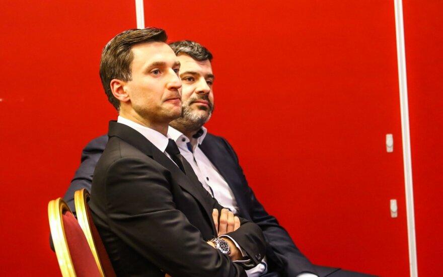Deividas Šemberas ir Rimvydas Čekavičius (R. Tenys/alyga.lt)