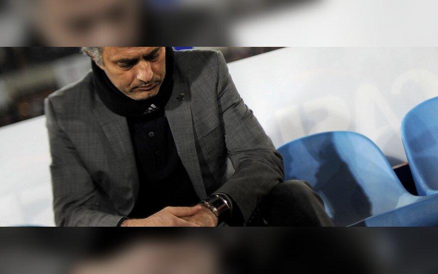 Jose Mourinho auklėtiniai prarado taškus