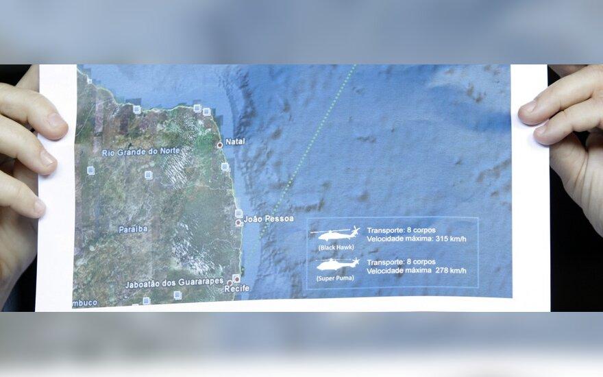 Paskelbti į Atlanto vandenyną nukritusio Prancūzijos lėktuvo savirašių prietaisų duomenys