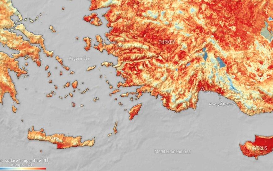 Karčio bangos Graikijoje ir Turkijoje