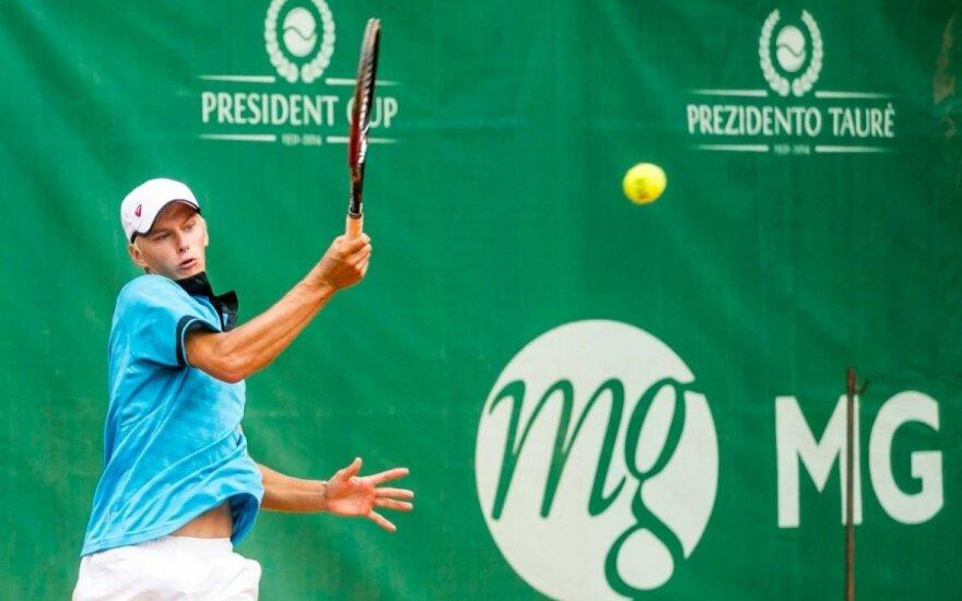 L. Mugevičius Turkijoje nepateko į ketvirtfinalį