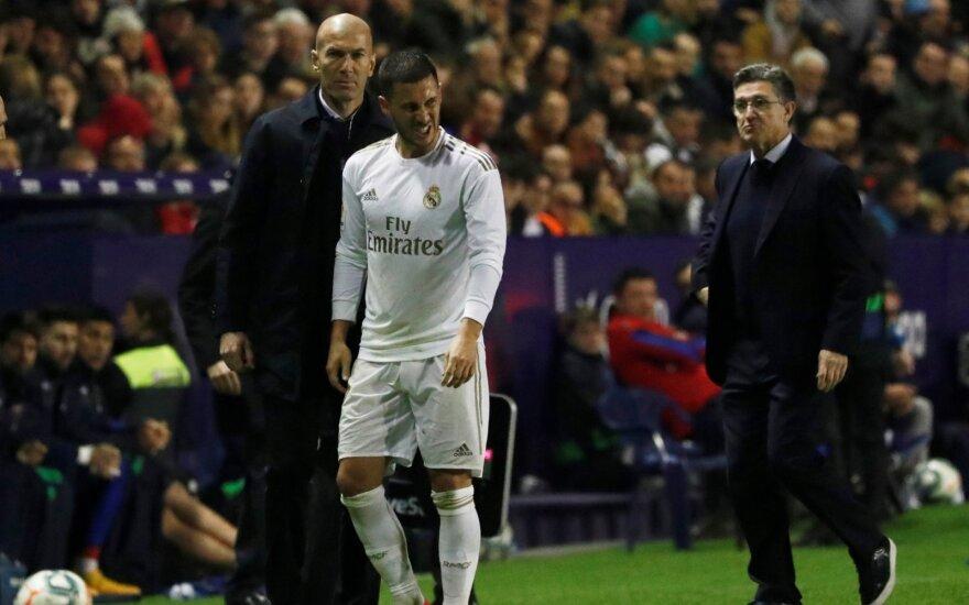 Edenas Hazardas ir Zinedine'as Zidane'as