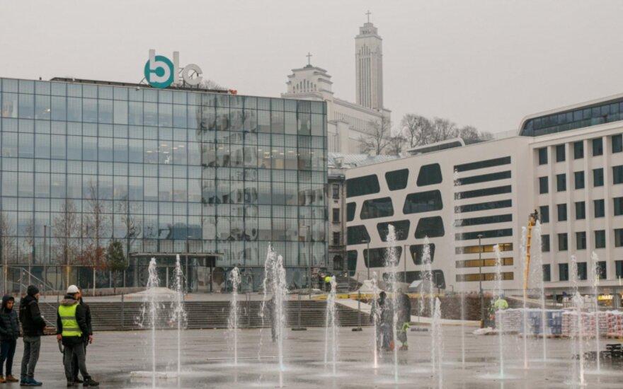 Pamatykite pirmieji: nauja požeminė automobilių stovėjimo aikštelė Kauno centre